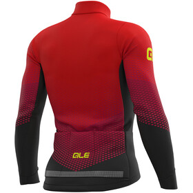 Alé Cycling PR-S Delta Micro LS Jersey Men black-bordeaux-red